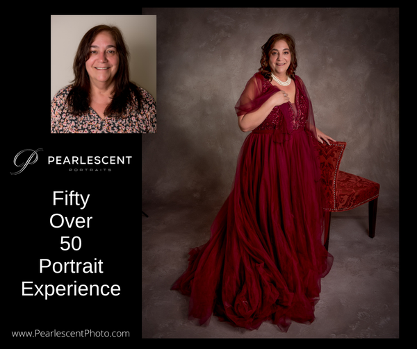 Image of Fifty Over 50 Glamour Portrait Experience