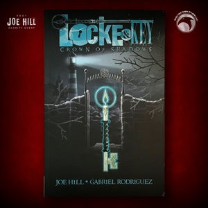 Image of JOE HILL 2021 CHARITY EVENT 1: SIGNED Locke & Key, Vol. 3: Crown of Shadows TPB FIRST PRINTING