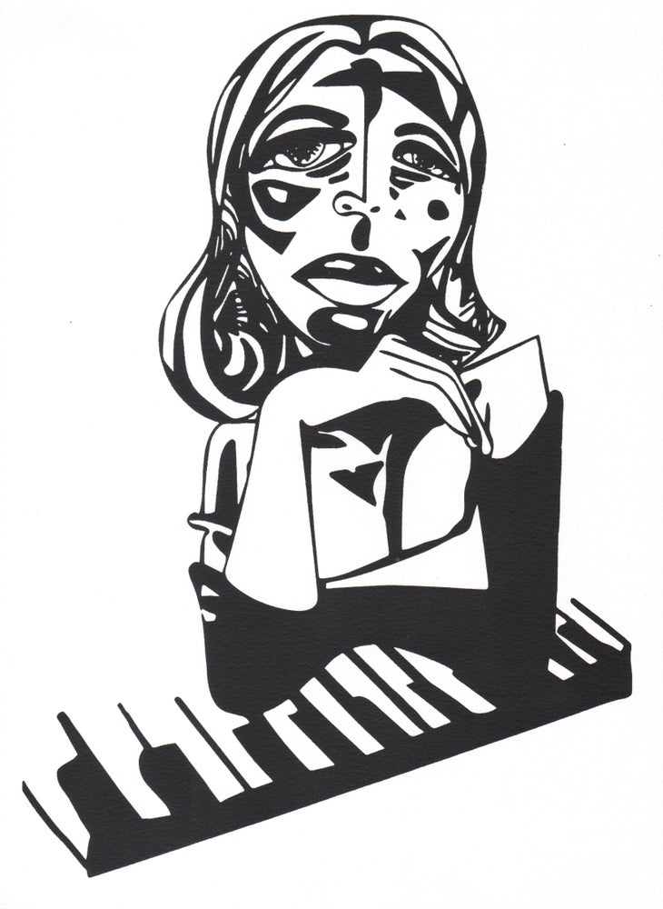 Image of First Lady of Jazz Screenprint