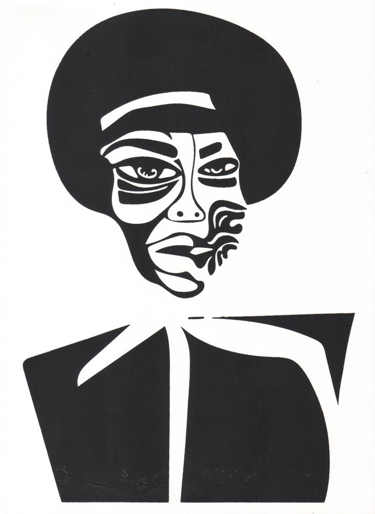 Image of Nina Simone Screenprint