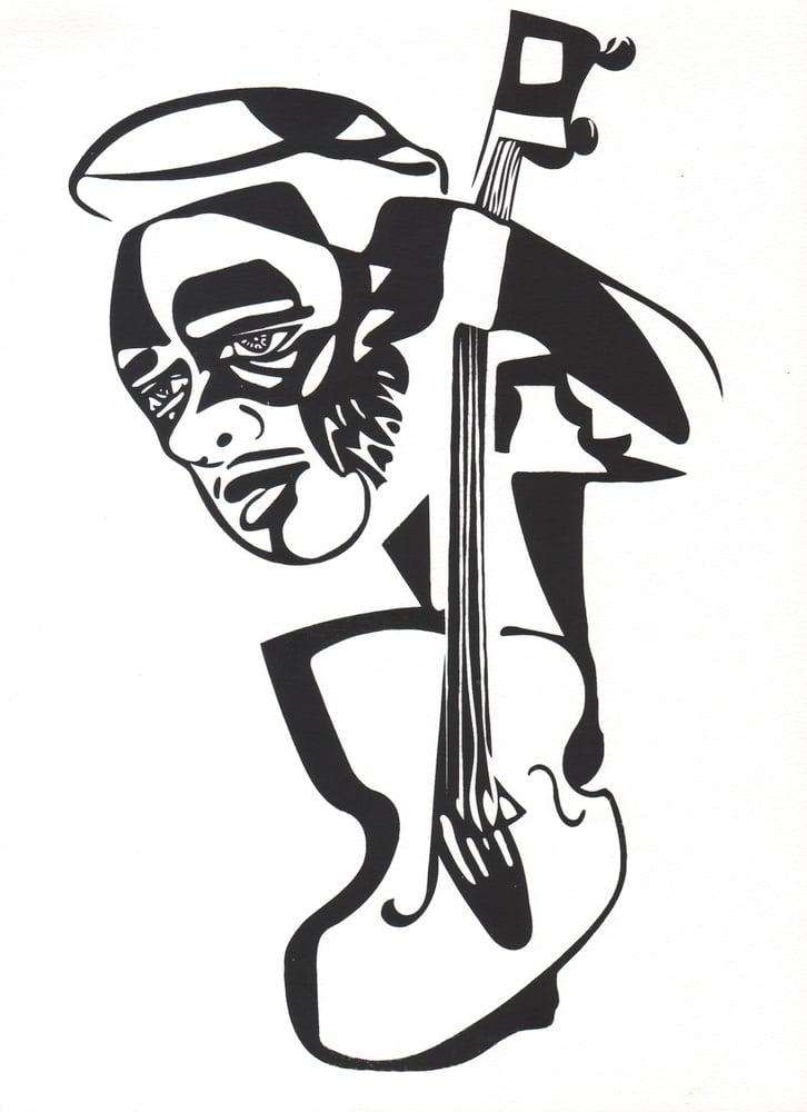 Image of Charles Mingus Screenprint