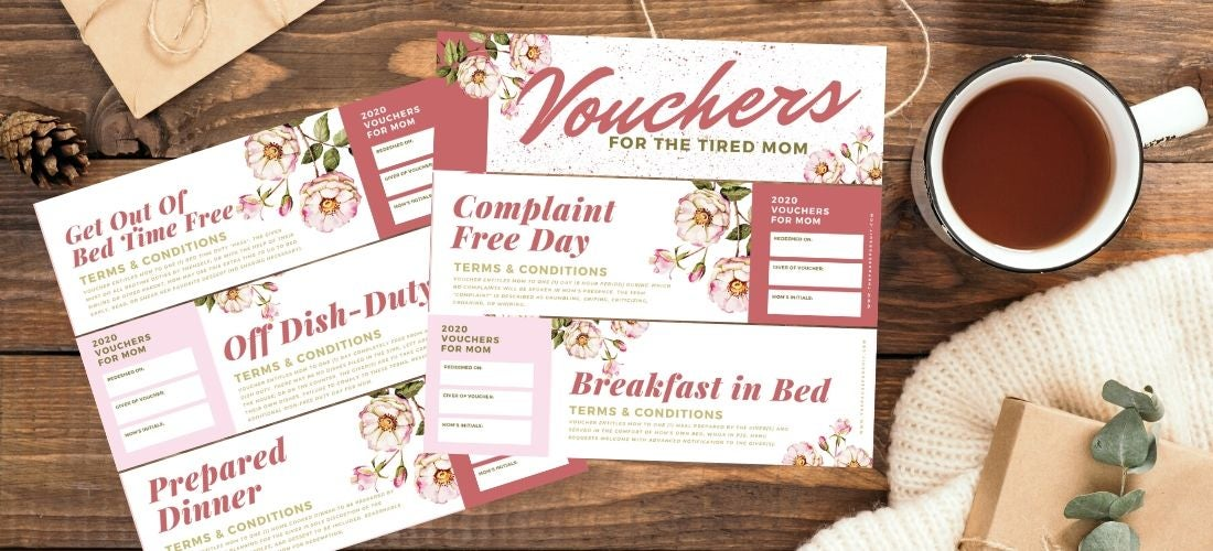 Image of Mother's Day Vouchers