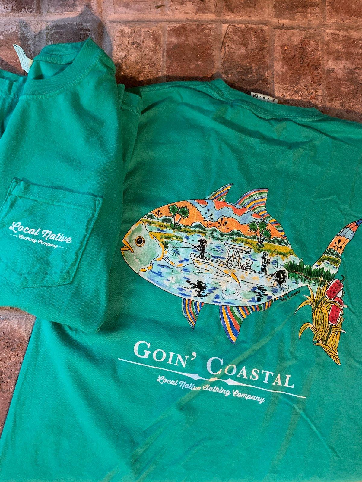 Image of Goin Coastal Short Sleeve Pocket Tee