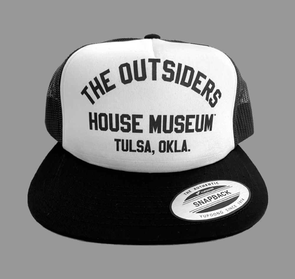Image of The Outsiders House Museum Truckers Cap.