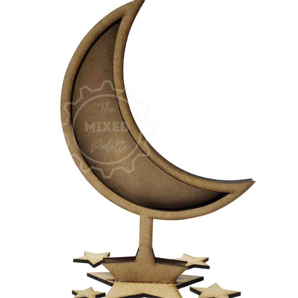 moon shadow box stand