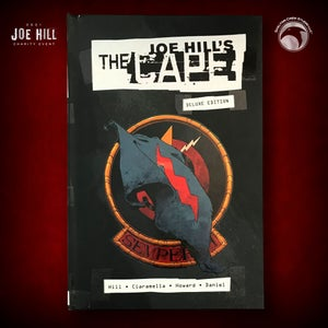 Image of JOE HILL 2021 CHARITY EVENT 19: SIGNED The Cape Deluxe Edition HC DAMAGED