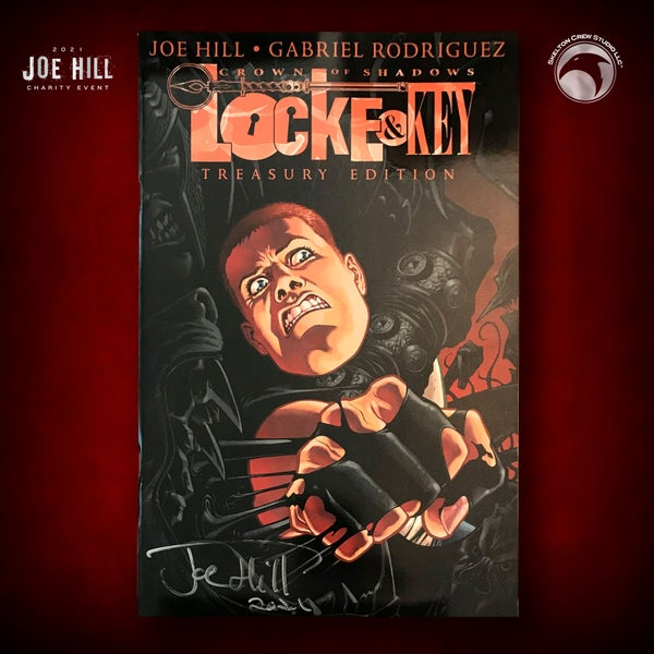 Image of JOE HILL 2021 CHARITY EVENT 21: SIGNED Locke & Key Crown of Shadows Treasury Edition FIRST PRINTING