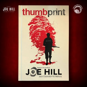Image of JOE HILL 2021 CHARITY EVENT 24: Thumbprint HC FIRST PRINTING