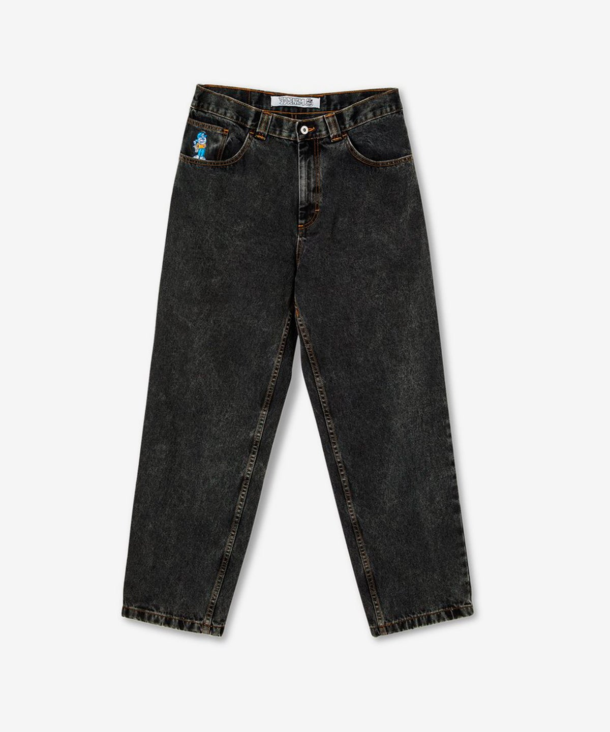 Image of POLAR_93 ! DENIM :::WASHED BLACK:::