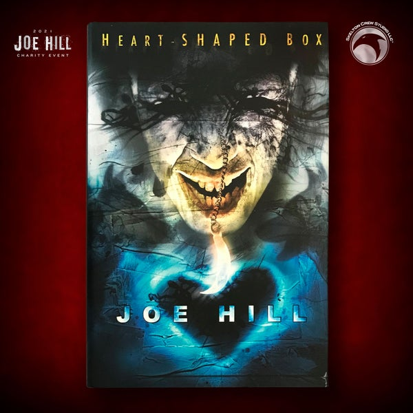 Image of JOE HILL 2021 CHARITY EVENT 37: SIGNED Heart-Shaped Box Subterranean Press HC Personal Copy SIGNED