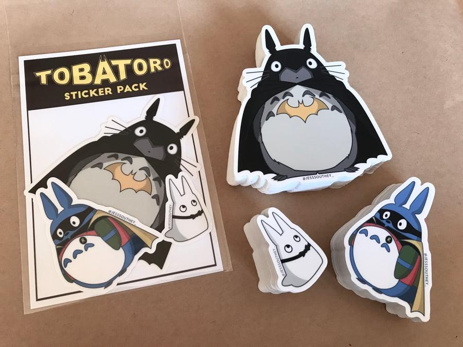Image of Tobatoro Stickers