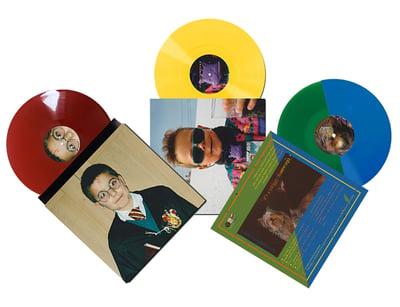 Image of {PRE-ORDER} - Vinyl Tricolor! // PACKAGE DEAL