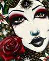 """Original painting: """"Medusa Gardens"""""""