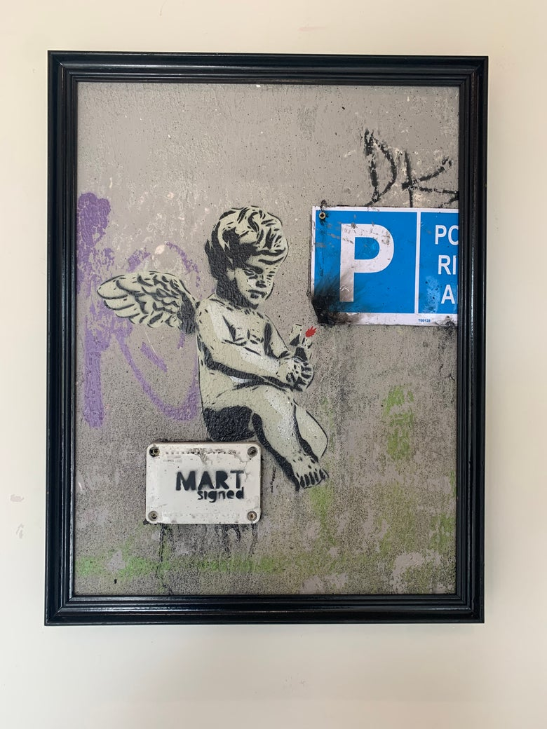 Image of Nasty Angel by Mart Signed