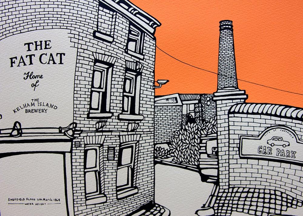 Image of The Fat Cat- Orange