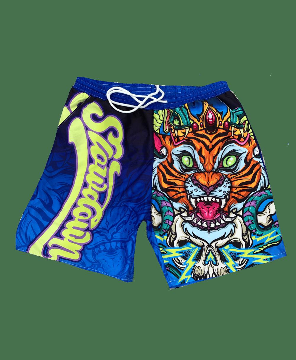 Mens Tiger Swim shorts