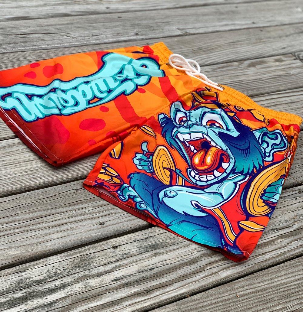 Mens Monkey Swim Shorts