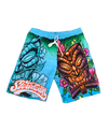 Mens Tiki Swim Shorts