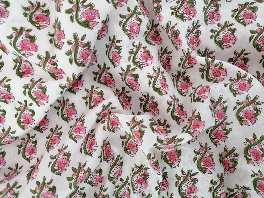 Image of Namasté fabric aubépine