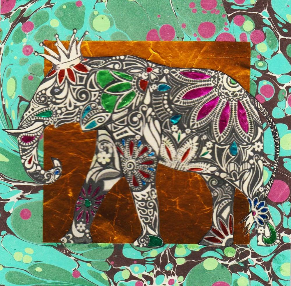 Image of Jewelled Elephant #2157