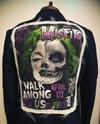 Misfits UPcycled slim fit denim suit jacket