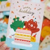 Gold Foiled Greeting Card - Happy Birthday