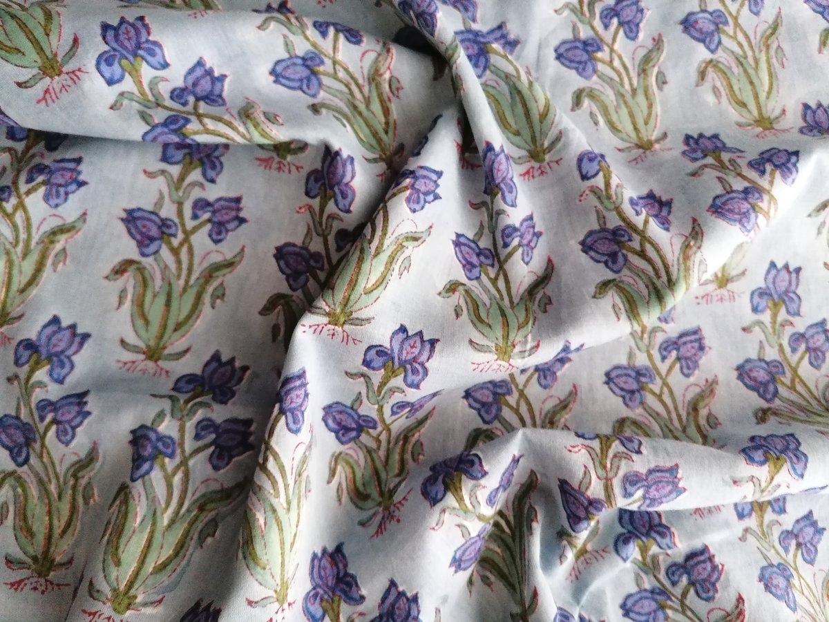 Image of Namasté fabric iris