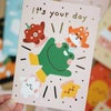 Gold Foiled Greeting Card - It's your day