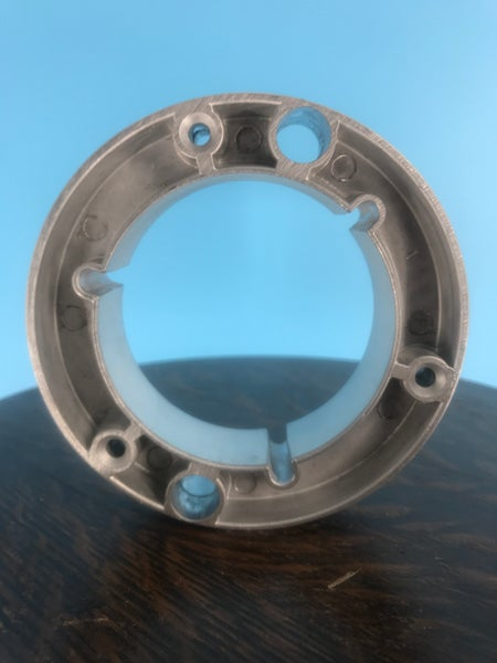"""Image of  1"""" NAB Metal Hubs for 1"""" Metal Reels Black"""