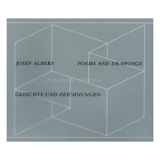 Image of Josef Albers: Poems and Drawings