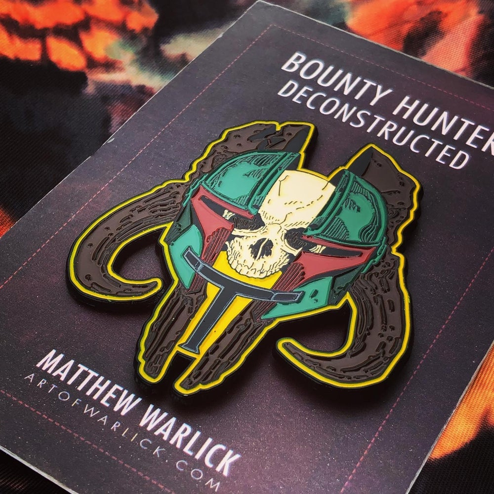 Image of Bounty Hunter Deconstructed | Enamel Pin (May the 4th Release)