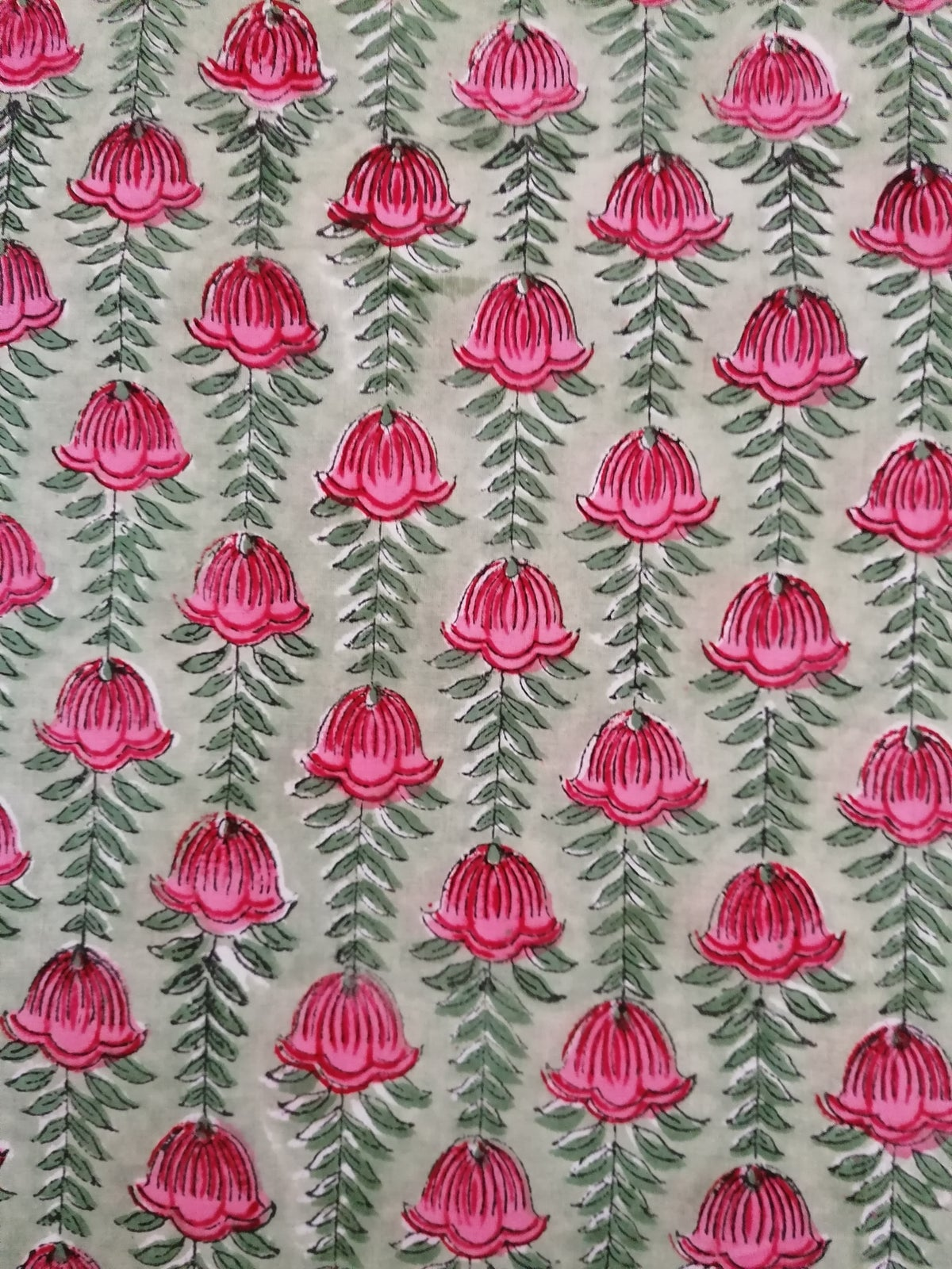 Image of Namasté fabric fritillaire