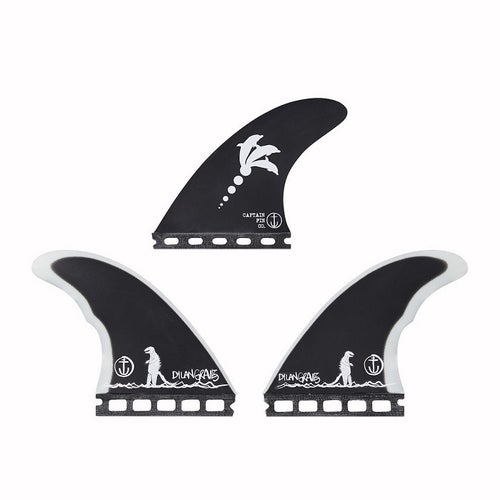 Image of Captain Fin Co Dylan Gravezilla Thruster Fins