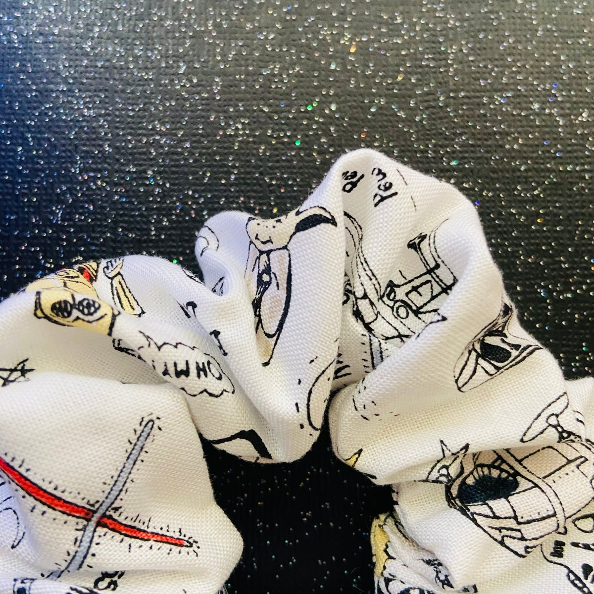 Image of Space Doodle Scrunchie