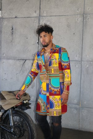 Image of The Chike shirt- multi color