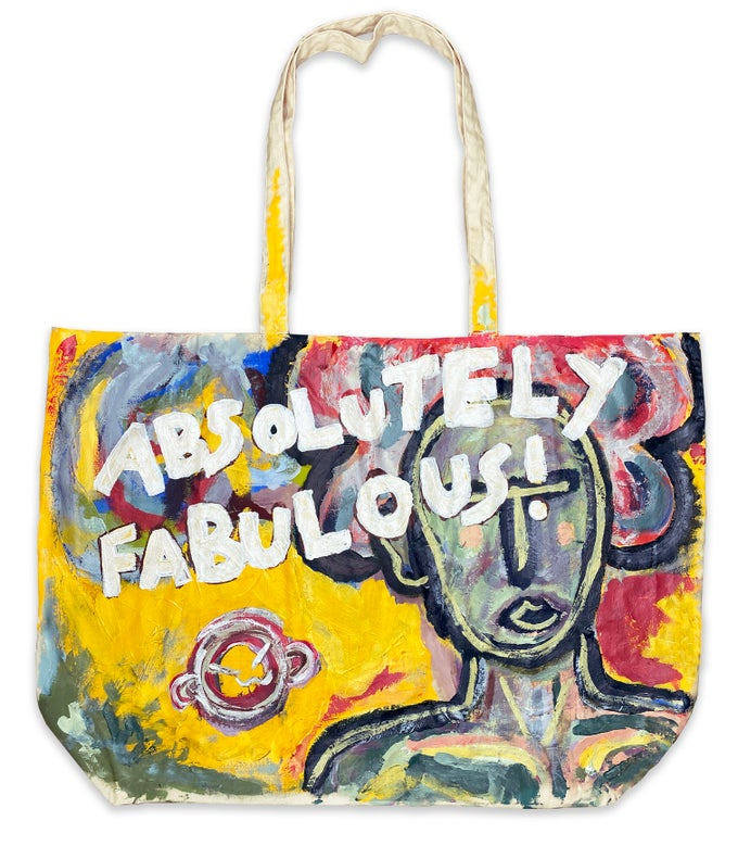 Image of absolutely fabulous! | tote
