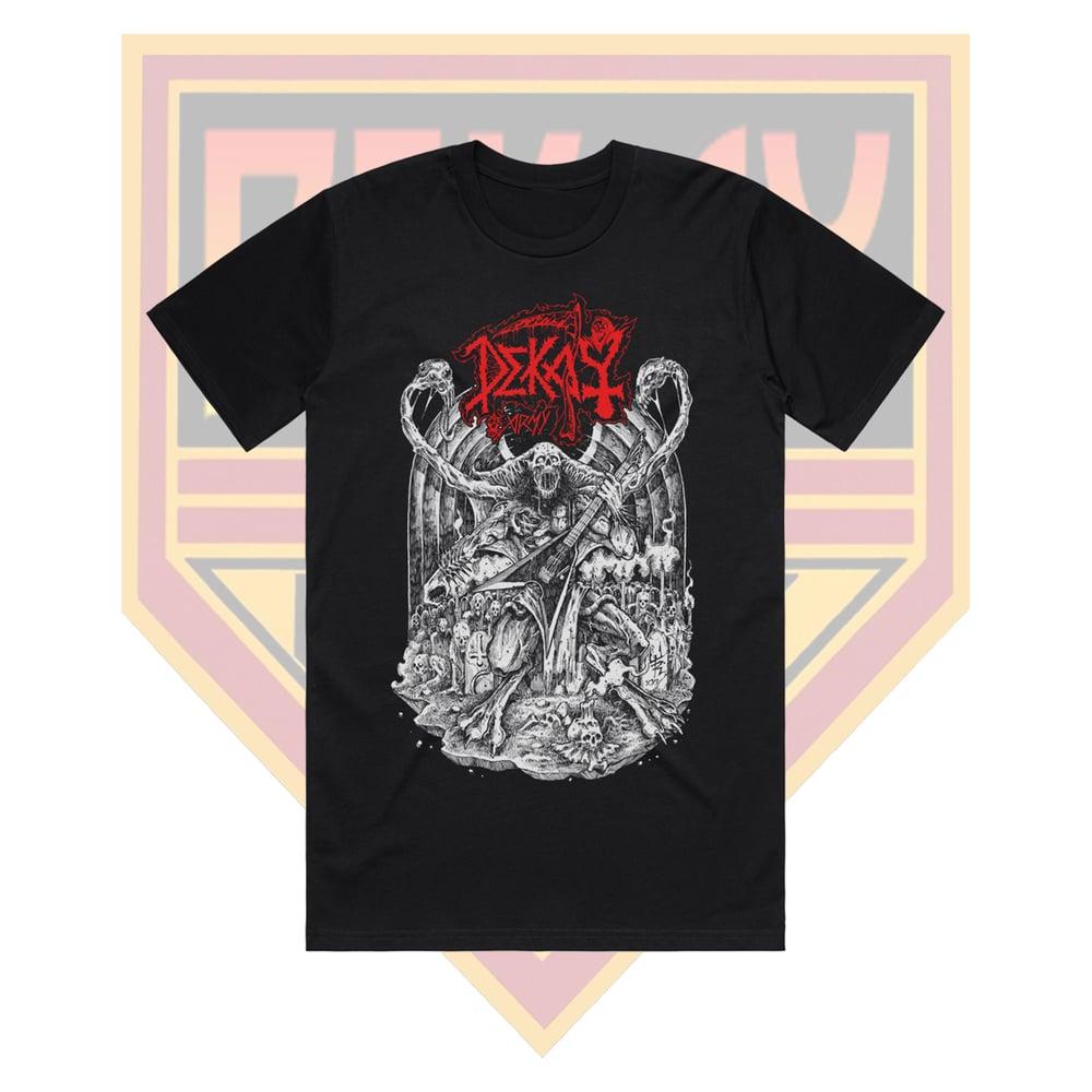 TODERICO x DEKAY DEATH METAL T-SHIRT