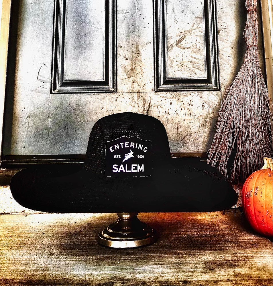 Image of Entering Salem - Witch In Morning Sun Hat