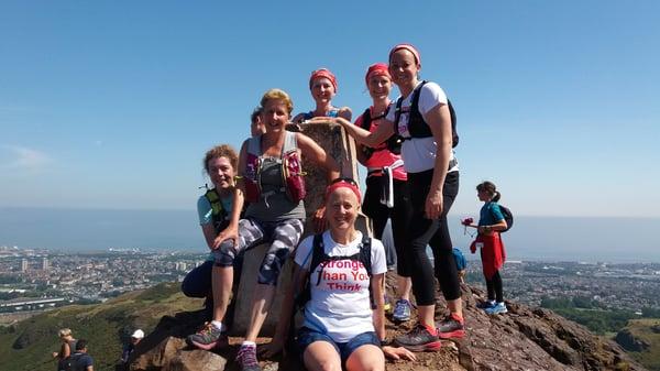 Image of 6 Hills of Edinburgh - running tour