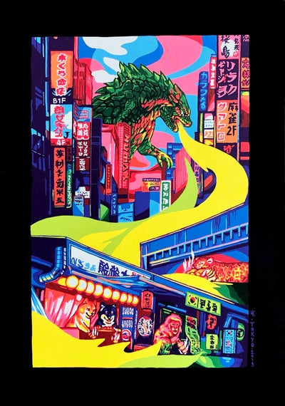 Image of Watch Out for Godzilla!