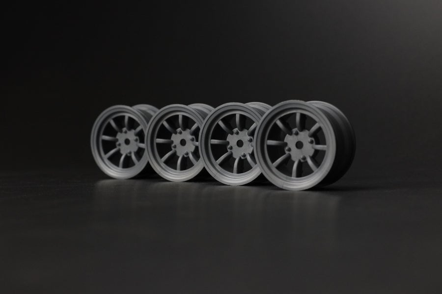 Image of PHAT BODIES Classic 8 spoke Minilite wheels M chassis