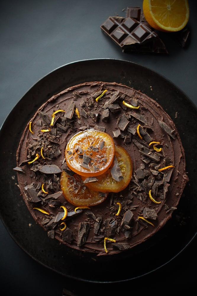 Image of Chocolate Orange Cake