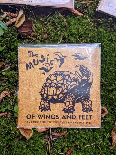Image of Of Wings and Feet- Soundtrack CD