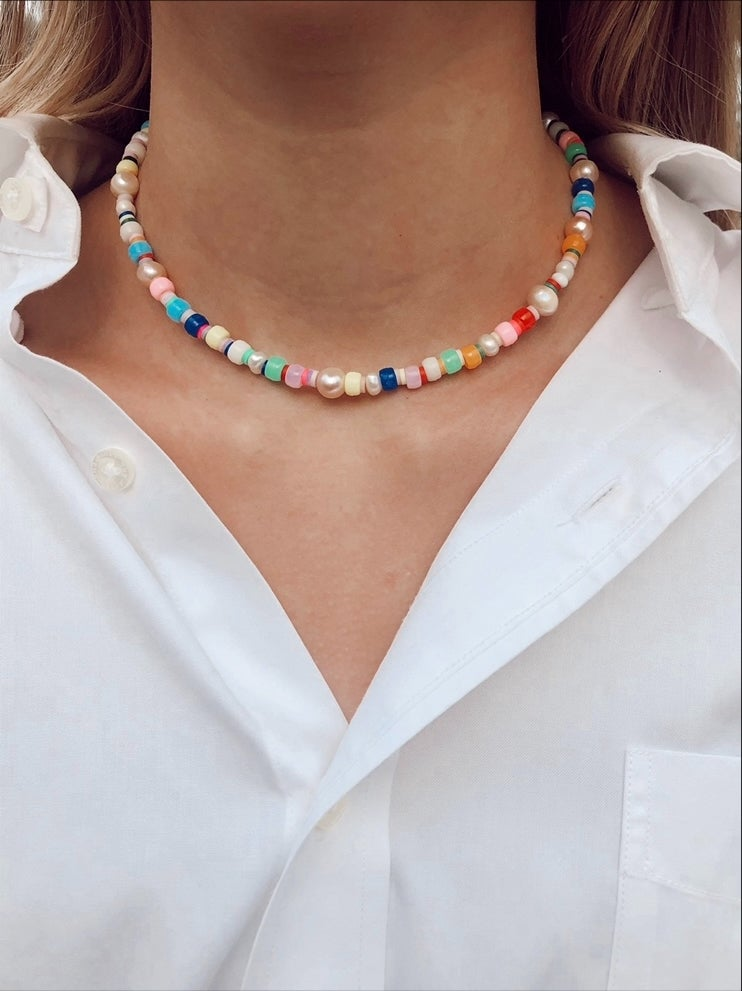 Image of Harry Inspired Colorful Necklace