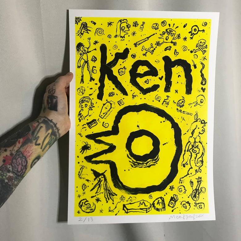 Image of Ken Logo Print (w/details)
