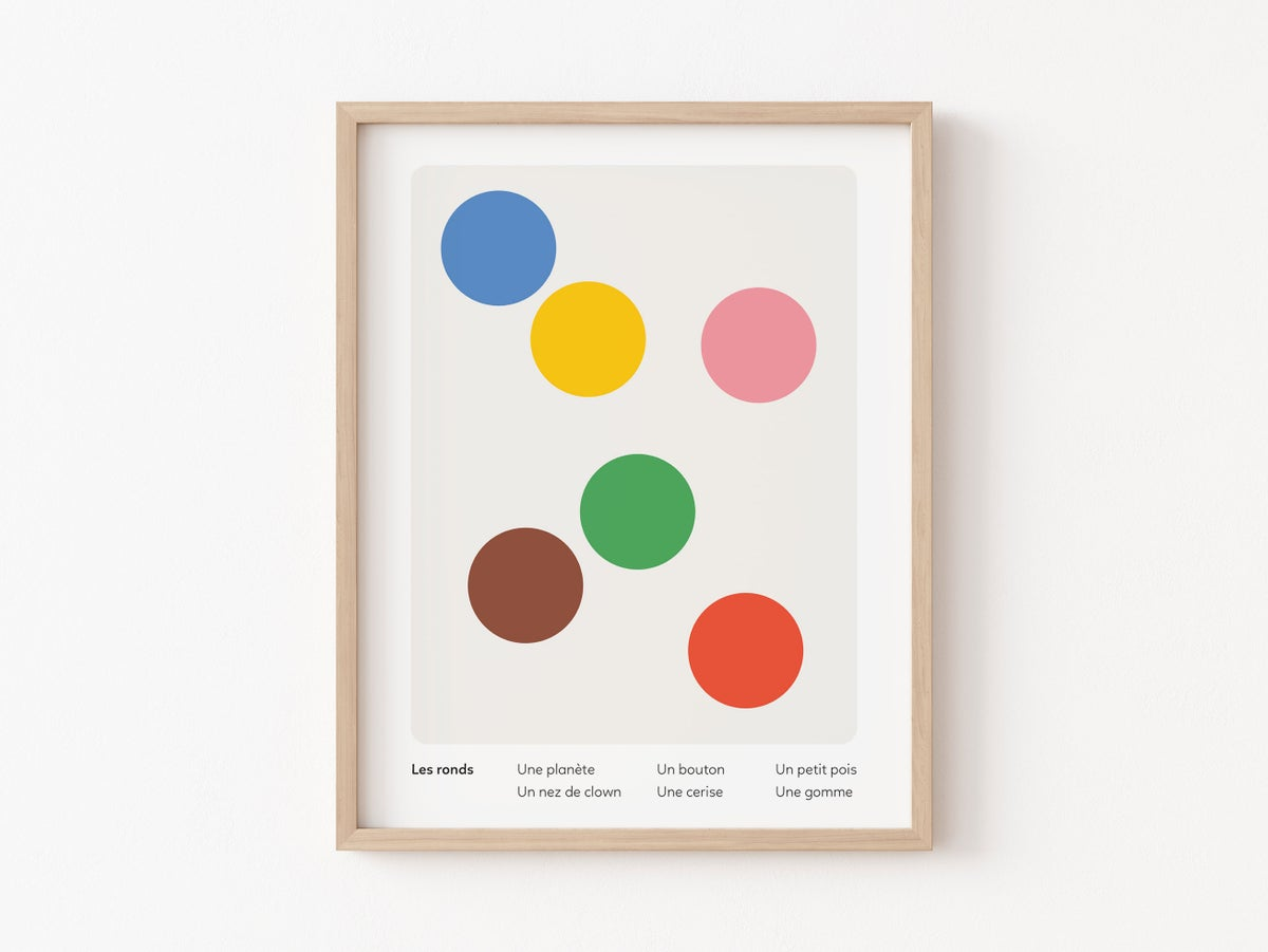 Image of Inventory of Likeness - Children - Circles