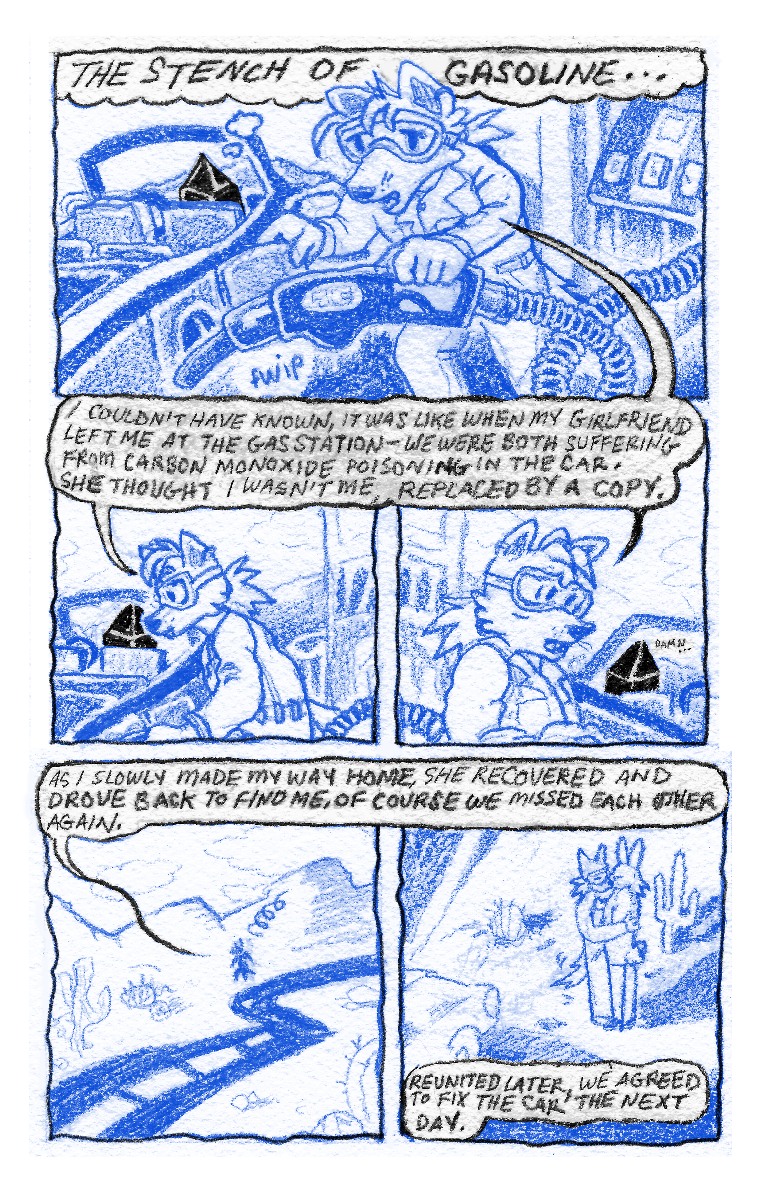 Image of Transparency (2021) Comic by Seb Stone / Opal Pence