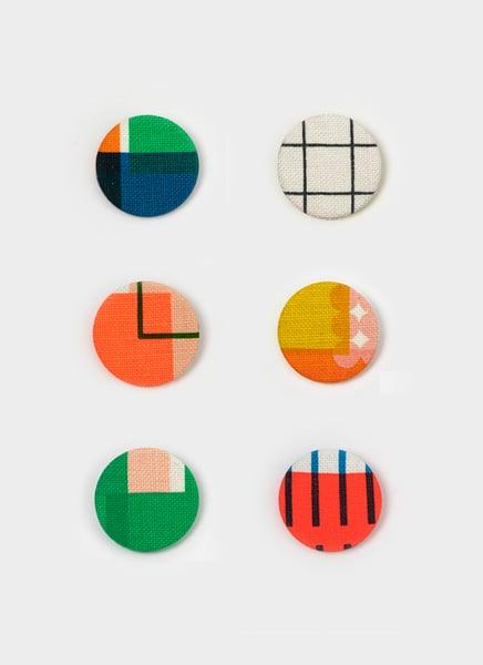 Image of Screen printed badge 005