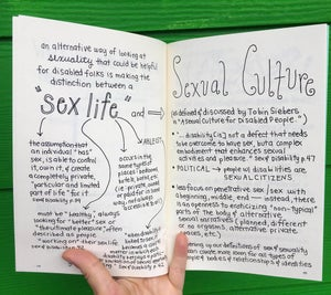Image of Disability & Sexuality: An Intro Guide for Sex by Ashley Hartman Annis, FAE, RHE  (Microcosm Pub.)
