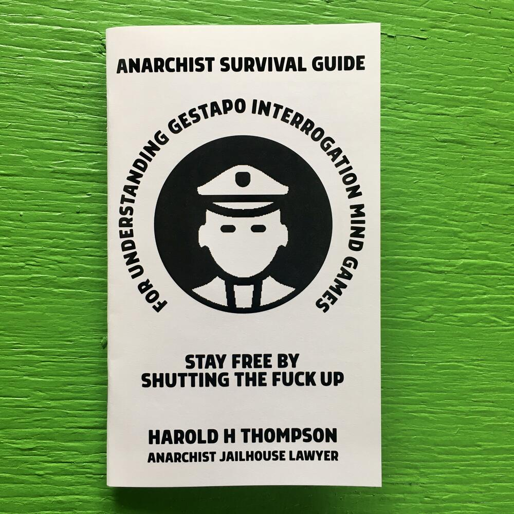 Image of Anarchist Survival Guide for Understanding Gestapo Swine by Harold H Thomson (Microcosm Pub.)